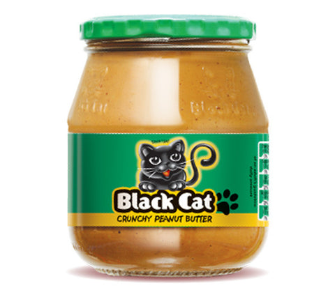 Black Cat Peanut Butter - Crunchy