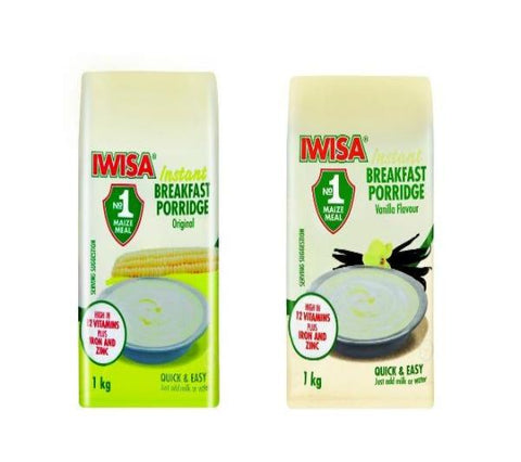 Iwisa Instant Breakfast Porridge - various