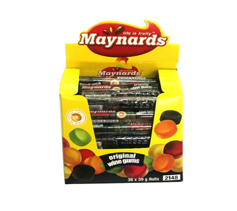 Maynards Original Wine Gums - roll [S]