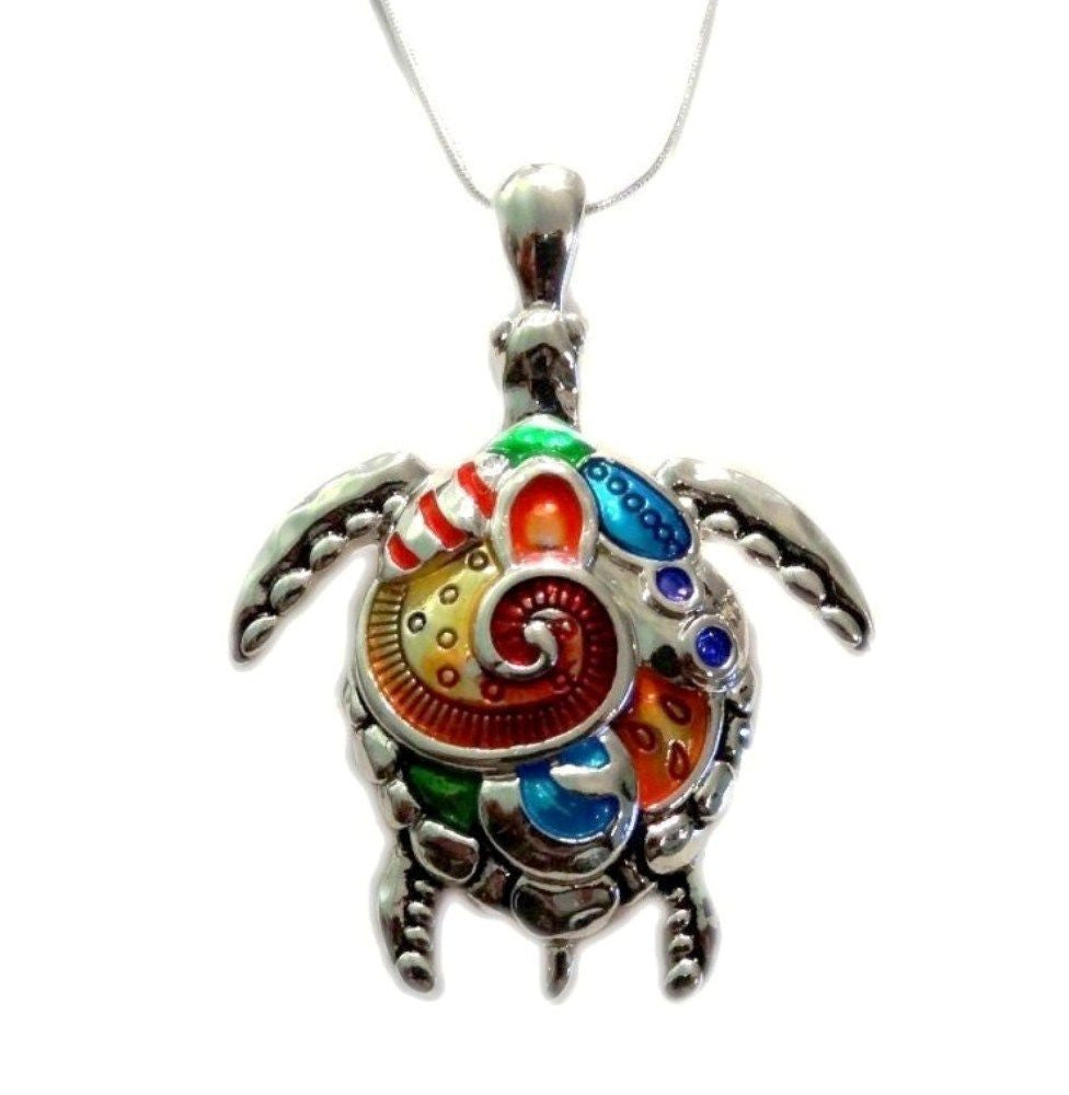 alloy turtle pendant necklace simplytrendy org