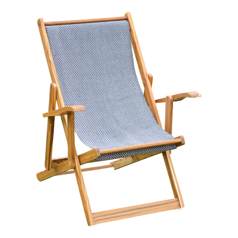 Navy & White Hammock Lounger