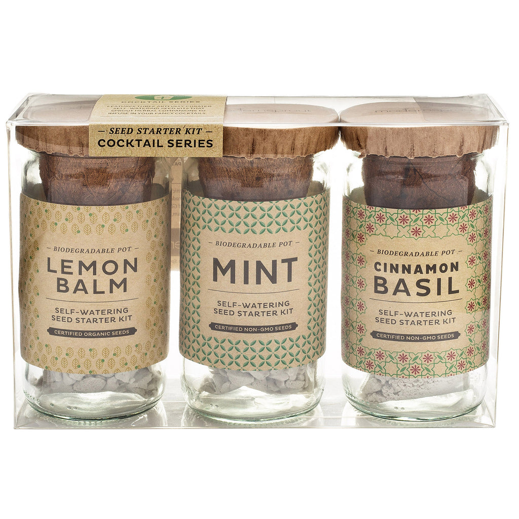 Eco Seed Starter Kit - Cocktail Series
