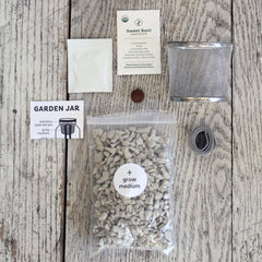 Garden Jar Italian Herb Kit