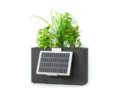 3 pot hydro planter - solar