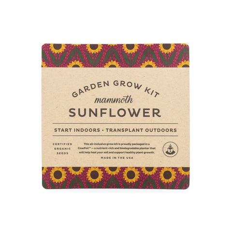 NEW! Garden Drop-In Kit: Sunflower
