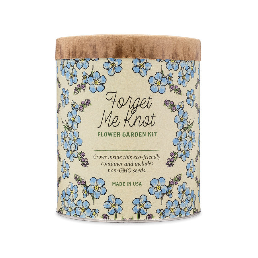 Waxed Planter - Forget-Me-Knot Grow Kit