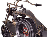 motorcycle clock detail