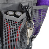 Utopia Alley Portable Mesh Shower Caddy with 6 external pockets and key holder