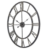 Utopia Alley Oversized Roman Round Wall Clock, 27""