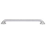 "Utopia Alley Decorative Shower Safety Grab Bar, 24"", Brushed Nickel"