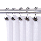 Utopia Alley Beatrice Shower Curtain Hooks, Shower Curtain Hooks for Bathroom Shower Rods Curtains, Set of 12