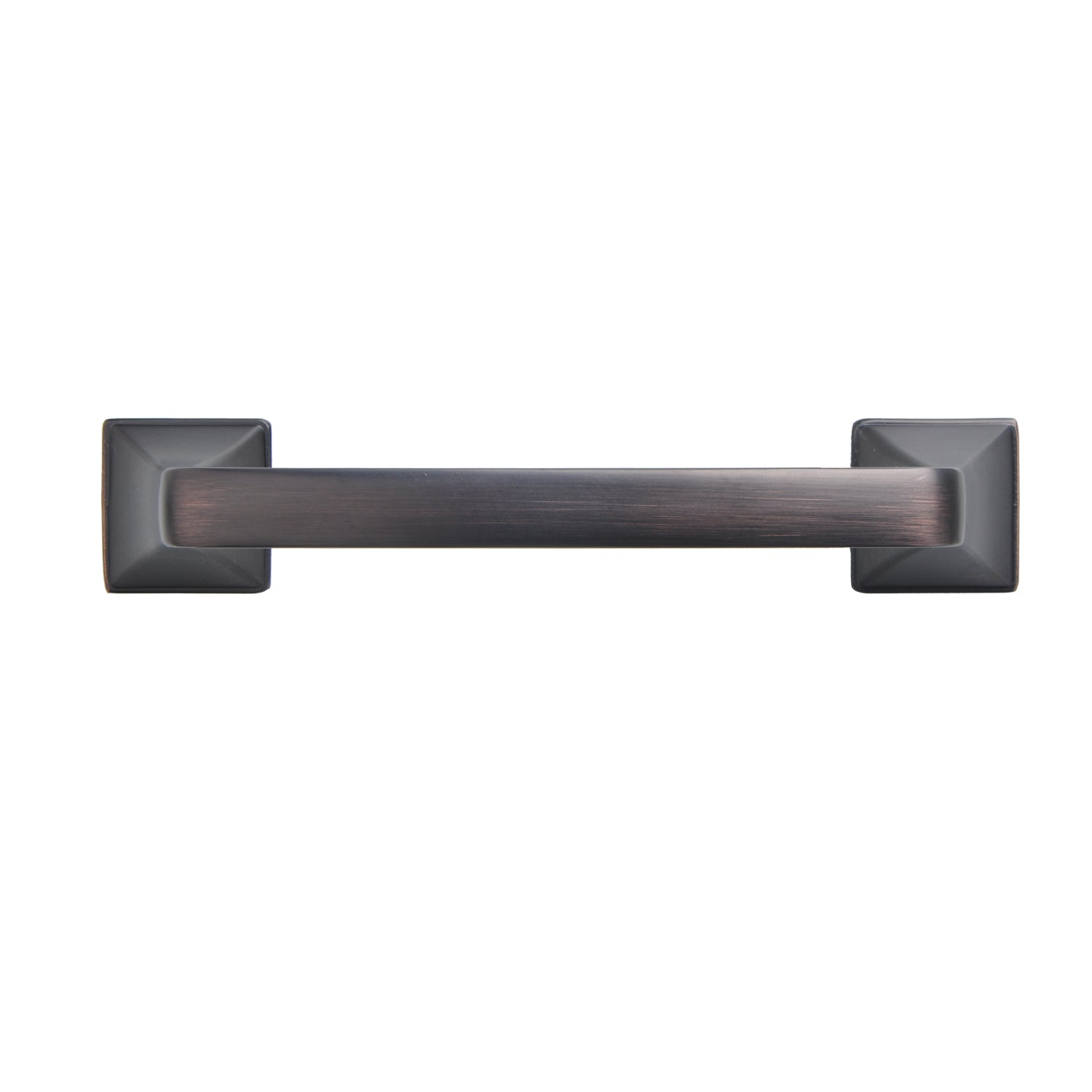 Brax Cabinet Pull Handle, Oil Rubbed Bronze, 3-3/4 in. or 5 in ...