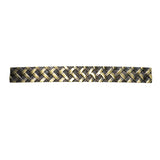 "Utopia Alley Basket Weave Cabinet Pull, 5"" Center to Center, Antique Brass"