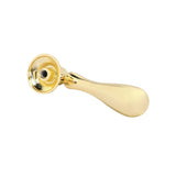 "Utopia Alley Danbury Pendant Drop Pull, 2.7"", Polished Gold"