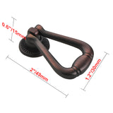 "Utopia Alley Soffi Ring Cabinet Pull, 2"", Oil Rubbed Bronze"