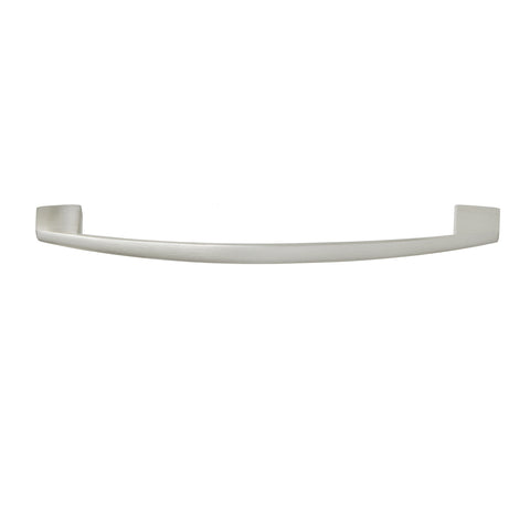 "Utopia Alley Apollo Cabinet Pull, 6.4"" Center to Center, Brushed Nickel"