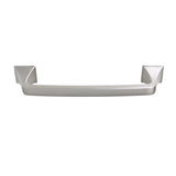 "Utopia Alley Brax Brushed Nickel Cabinet Pull, 5.1"" Center to Center"