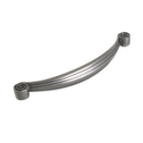 "Utopia Alley Whitton Cabinet Pull, 5.1"" Center to Center, Pewter"