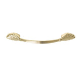 "Utopia Alley Amy Cabinet Pull, 5.1"" Center to Center, Polished Gold"