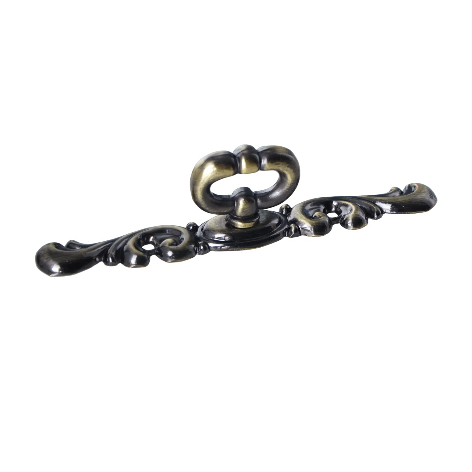 Vallia Furniture Cabinet Pull Antique Brass