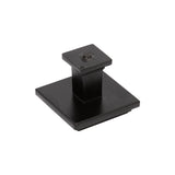 "Utopia Alley  Dover Cabinet Pull knob & Handle, Matt black 3.78"" & 5"" Center to Center"