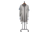 "Utopia Alley 37.5""W Metal Single Bar Garment rack, Chrome/Black"
