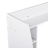 Utopia Alley Mealamine Floating Wall Mount Desk, Espresso