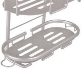 Utopia Alley Aluminum Rustproof Shower Caddy, 2 Shelf
