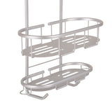 Utopia Alley Aluminum Rustproof Shower Caddy, 3 Shelf