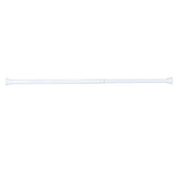 "Utopia Alley 40"" Aluminum Tension Rod with PVC End Caps, White"