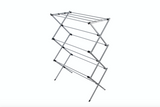 Utopia Alley Foldable Clothes Drying Rack - Silver