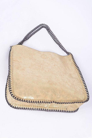 Apparel Candy - Gold Chain Handbag