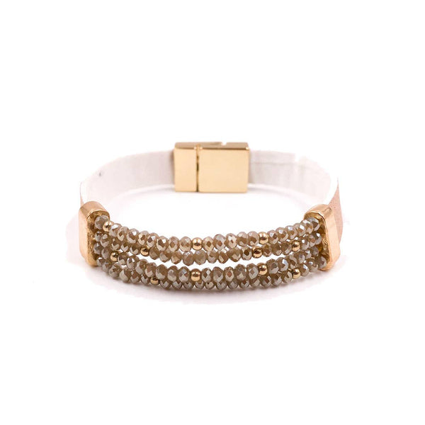 Mix Mercantile Designs - Champagne Bracelet