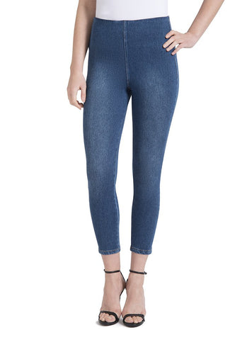 Lysse Toothpick Denim Crop