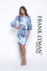 Frank Lyman Blue/Navy Knit Dress
