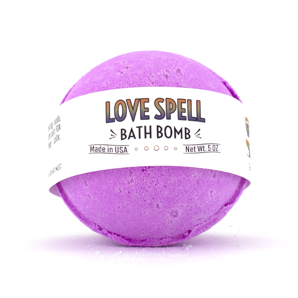 Country Bathhouse Wholesale - Bath Bomb - Love Spell