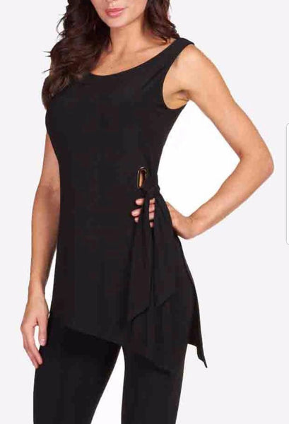 Frank Lyman Belted Sleeveless Top