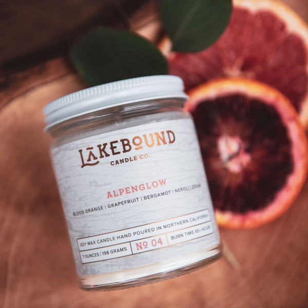 Lakebound Candle Co. - Alpenglow Candle