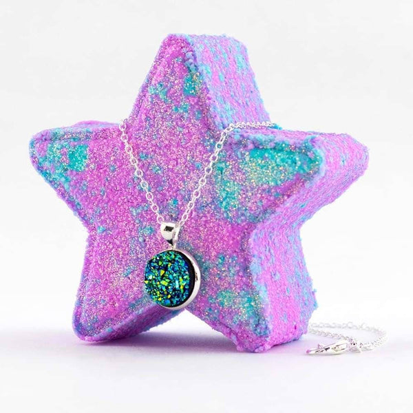 Country Bathhouse Wholesale - Surprise Bath Bomb - Mermaid Jewelry