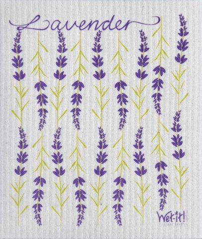 Wet-it! - Lavender Swedish Cloth