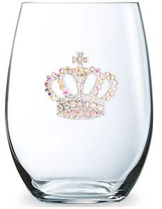 Cork Pops Inc - Aurora Borealis Crown Stemless Cup