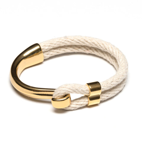 Allison Cole Jewelry - Hampstead Bracelet - Ivory/Gold