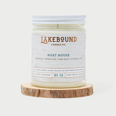 Lakebound Candle Co. - Boat House Candle