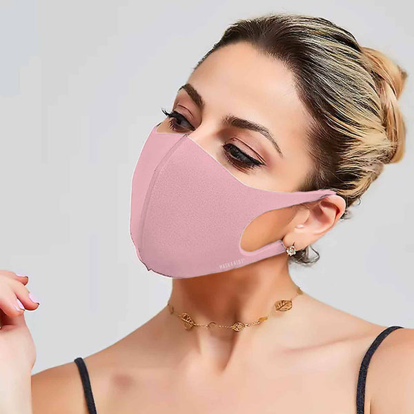 Mask4Aide - iMask Reusable Unisex Face Mask - Pink