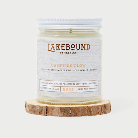 Lakebound Candle Co. - Campfire Glow Candle