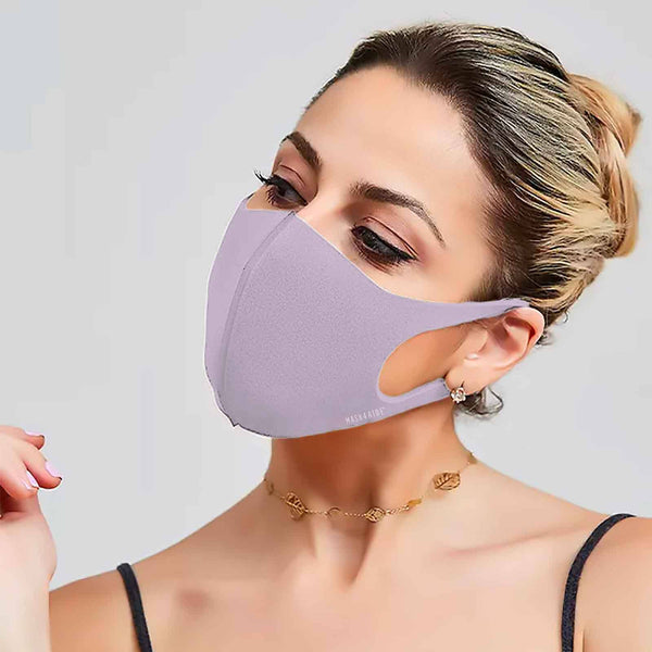 Mask4Aide - iMask Reusable Unisex Face Mask - Lilac