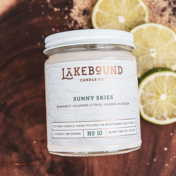 Lakebound Candle Co. - Sunny Skies Candle