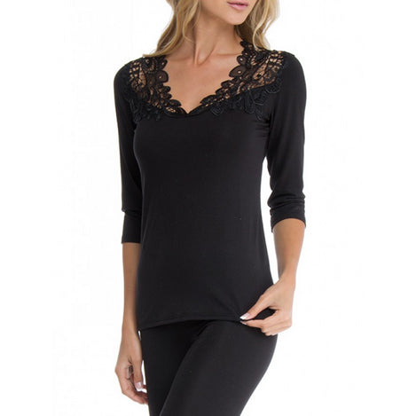 Arianne 3/4 sleeve lace top