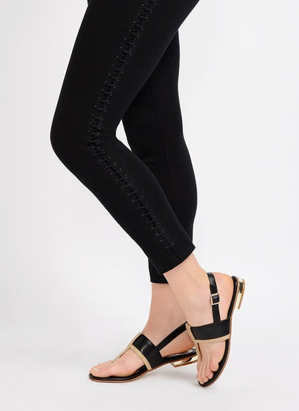 Lysse Lace Up Twill Legging