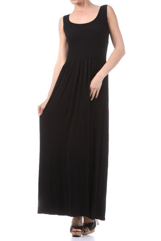 M. RENA SLEEVELESS MAXI DRESS